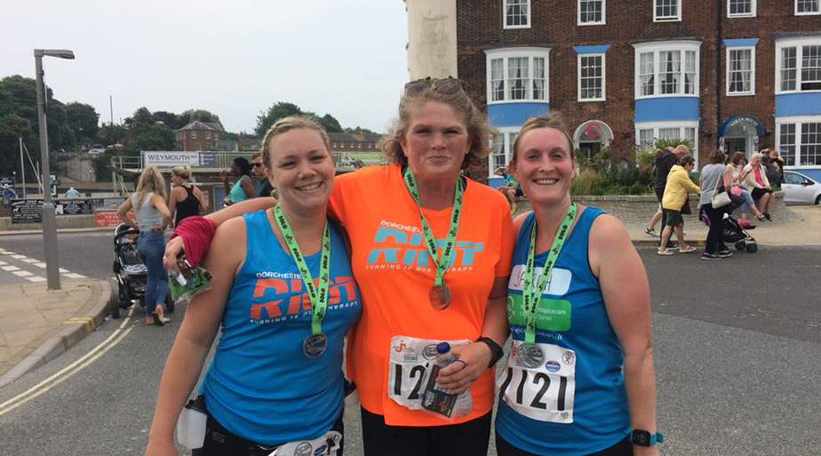 RIOT do Weymouth Half and 10k