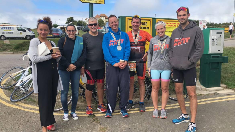 Bustinskins Weymouth Triathlon 19th August 2018