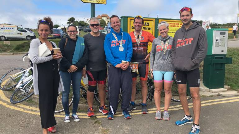 Bustinskins Weymouth Triathlon 19th August 2018